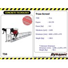 Truss Screed - TS6