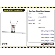 Surface Finishing Screed - DSFS