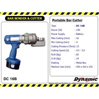 Portable Bar Cutter - DC 16B