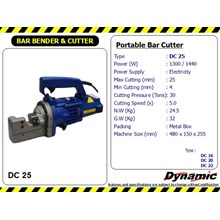 Portable Bar Cutter - DC 25