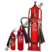 Q-FIRE CARBON DIOXIDE CO2 FIRE EXTINGUISHER