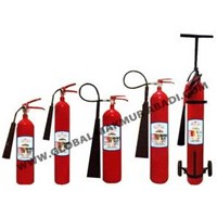 FIREGUARD CARBON DIOXIDE  CO2 FIRE EXTINGUISHER