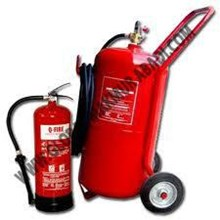 Q-FIRE FOAM FIRE EXTINGUISHER.
