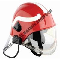 Q-FIRE PF1000 RED FIREMAN HELM.