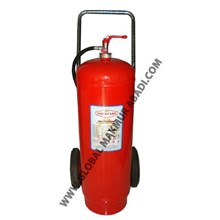 FIREGUARD WHEEL CARRYING DRY CHEMICAL POWDER FIRE