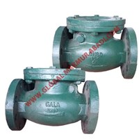 Sell GALA SWING CHECK VALVE KATUB VALVES FLANGE JIS 16K