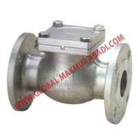 Sell 317 STAINLESS STEEL SWING CHECK KATUP VALVES FLANGE END