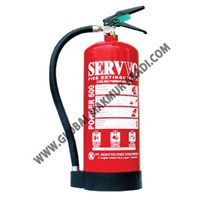 Sell SERVVO P 600 ABC90 D-MET UL DRY CHEMICAL POWDER FIRE EXTINGUISHER