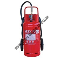 Sell SERVVO D 10000 FE36 WHEELED TROLLEY CLEAN AGENT FIRE EXTINGUISHER