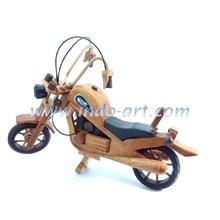 Miniature Of Wooden Harley Davidson
