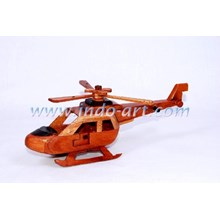 Wooden Helicopter Miniature