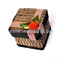 Jual Kerajinan Box Perhiasan Kotak Lidi