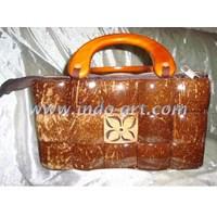 Kerajinan Tas Batok Handle 5X3