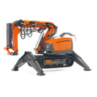 Mesin Demolition Robot
