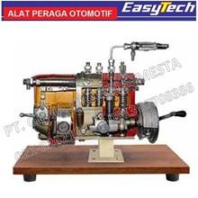 Trainer Pompa Injeksi Diesel In Line Peraga SMK