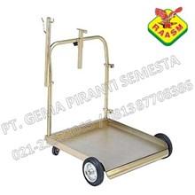 Modular Trolley Trolley Untuk Drum Oli & Gemuk
