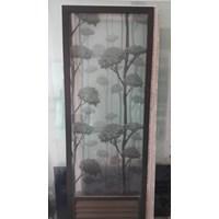 Pintu Kamar Mandi Alumunium Kaca
