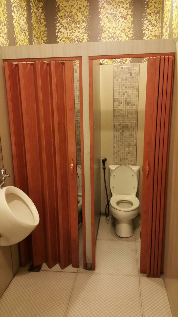 jual pintu kamar mandi lipat pvc harga murah medan oleh cv