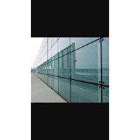 Curtain wall tempered