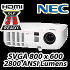 NEC NP-VE281X 3D DLP Digital Projector