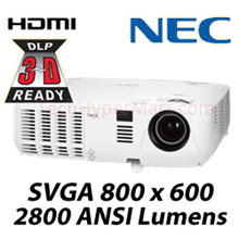 NEC NP-VE281X 3D DLP Digital Projector
