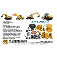 Jual HYUNDAI PARTS FOR HEAVY EQUIPMENT