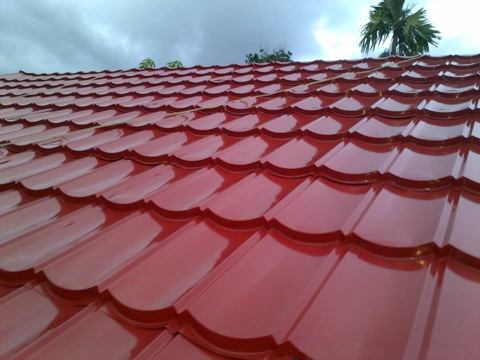 Jual Genteng Metal Sakura Roof Harga Murah Bogor Oleh CV