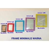 Jual Frame Minimalis Warna
