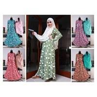 Jual Baju Muslim Wanita Motif Bintang