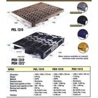 Pallet Plastik Single Deck