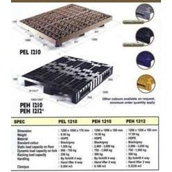 Single Plastic Pallet Decks