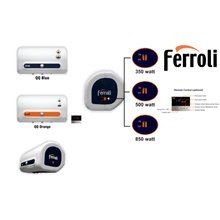 Pemanas Air Listrik Ferroli QQ Blue&Orange 15