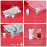 Jual Clear Stand Pouch + Spout (Doypack)