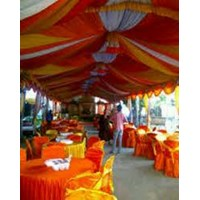 Sell wedding tent decorations