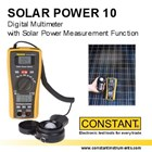 CONSTANT SOLAR POWER 10 Multimeter