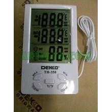DEKKO TH-358 Thermo-Hygrometer (Big Display)