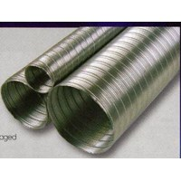 Semi-Rigid Aluminium Ducting