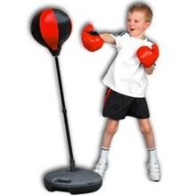 Samsak Tinju Anak Dengan Sarung Tinju (Kids Boxing Set)