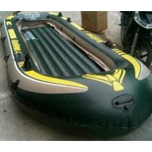 Perahu Karet Seahawk 4 Boat Set INTEX