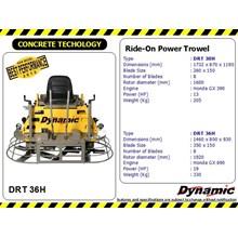 Ride On Power Trowel (DRT 36 h)