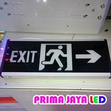 Sign Exit Emergency