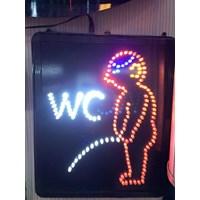 LED Sign Boy's Restroom