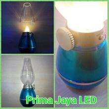 LED Emegency Lilin Dimmer Body Biru