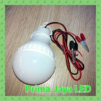 Jual Lampu LED Kabel Aki 5 Watt