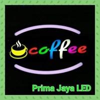 Jual Lampu LED Sign Coffee Terbaru