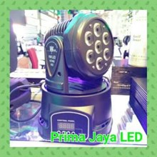 Mini Moving Par LED 7 X 10 Watt