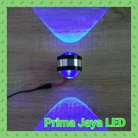 Jual Lampu LED Dinding Mata Ikan Biru