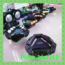 Lampu LED Moving Head Triangle LED 9 X 10 Watt