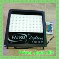 Jual Lampu Sorot RGB Spotlight Fatro 50 Watt