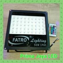 Lampu Sorot RGB Spotlight Fatro 50 Watt